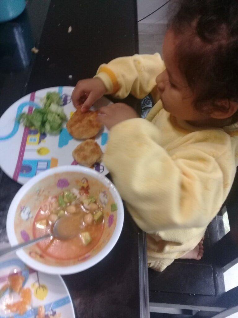 Cocinar con niños 6